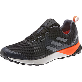 adidas TERREX Two GTX Buty Low-Cut Mężczyźni, core black/grey/solar orange